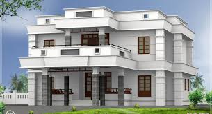 roof bedroom flat roof villa house design plans beautiful modern