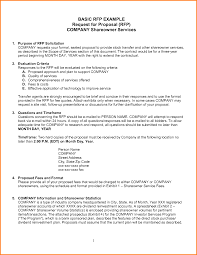 quotation request format pdf proposal request for proposal template