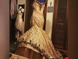 design my own wedding dress woman designs own woodland fairy tale wedding dress 6