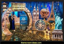 theme decorating ideas image result for around the world theme ideas new year 2018