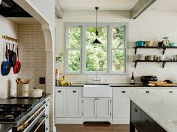 tiles backsplash glass tile backsplash blue thermofoil cabinets