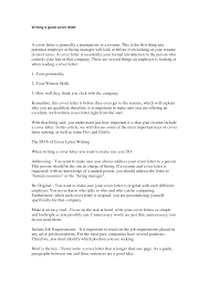 emejing what makes a good cover letter for a resume pictures
