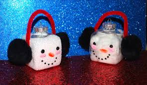 Homemade Ornaments For Christmas by Diy Snowman Christmas Ornament Tutorial Youtube