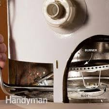 How To Turn Off Pilot Light How To Fix A Water Heater Pilot Light Family Handyman