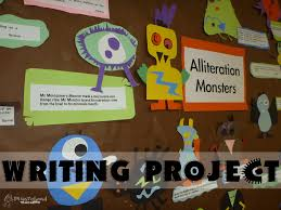 alliteration monsters writing project squarehead teachers