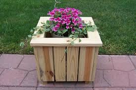 wood planter boxes decor awesome planter boxes decor