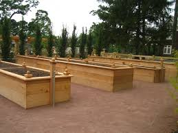 parallel side approach raised wood garden beds u0026 what appears to