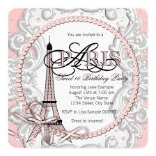 paris birthday party invitations u2013 invitations 4 u