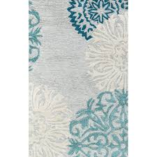 Best Wool Area Rugs Brian Tufted Gray Aqua Area Rug Basements Apartments And