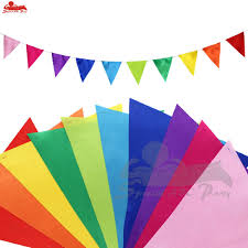 Banners Flags Pennants 126 Inch Diy Kids Birthday Party Flags Pennants For Halloween