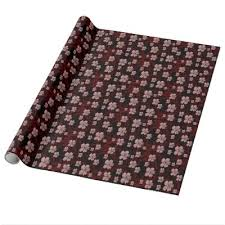 asian wrapping paper cherry blossom print wrapping paper zazzle