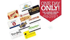 club saturday sale itunes gift card and more gift cards on sale