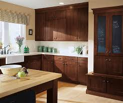 Shaker Cherry Kitchen Cabinets Shaker Style Kitchen Cabinets Kemper Cabinetry