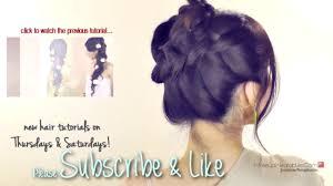 do a halo milkmaid braid tutorial cute braids hairstyles