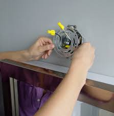 How To Replace Light Fixture Install A Mirrored Medicine Cabinet And Vanity Light Regarding How