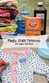 diy magic stain remover for baby clothes babies clothes scene