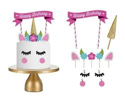 birthday candle 2017 unicorn birthday cake topper happy birthday candle party