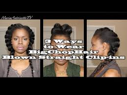 natural styles that you can wear in the winter 3 ways to wear blown straight clip ins big chop hair