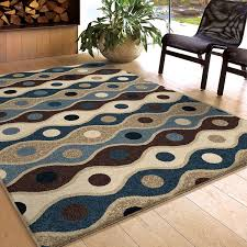 Brown And White Area Rug Rugs Curtains Brown Beige Blue Area Rug For Cool Interior Floor