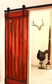 Red Barn Door by Barn Door Designs 889 Track Ideas Sliding Simple Loversiq