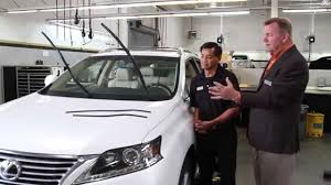 lexus fremont dealer magnussen lexus service tips windshield wiper youtube