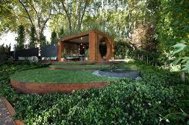 gold award winning garden from the melbourne international flower