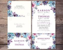send and seal wedding invitations seal and send etsy
