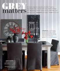 grey matters red pops interiors by color
