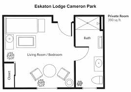 Room Floor Plans by Assisted Living Facility U0026 Senior Living In Cameron Park