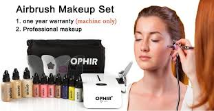 professional airbrush makeup system ophir pro makeup set 0 3mm airbrush makeup system kit with mini