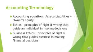 chapter 1 the accounting equation ppt download