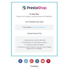 modelos de e mails responsivos para a prestashop prestashop addons