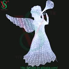 Outdoor Christmas Decor Angels by Led Acrylic Outdoor Christmas Decorations Lighted Christmas Garden