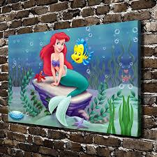 high quality mermaid art prints promotion shop for high quality