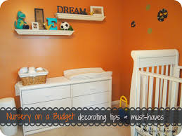 Decorating A Nursery On A Budget Nursery On A Budget Decorating Tips Must Haves Makeovers And