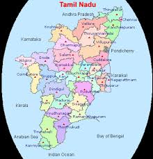 tamil nadu map tamil nadu pollution board