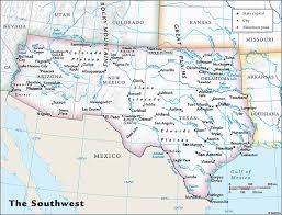 map usa rivers southwest map usa my