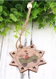 10pcs set five pointed hanging pendant ornament bellelily