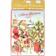 confiserie heidel nostalgic chocolate advent calendar 2 6 oz 75g