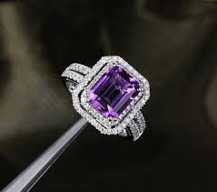 purple diamond engagement rings purple diamond engagement ring inner voice designs