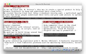 resume programmer programmer codes his own os that u0027s actually his cv shares its
