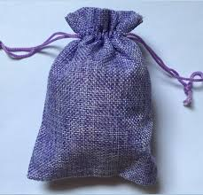cloth gift bags 7x9cm light purple jute bag 50pcs lot small fabric gift bags