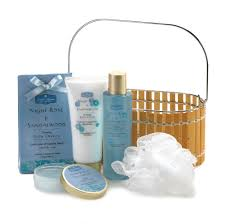 gift sets for women spa basket bath and gift sets for and santal