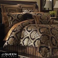 Fleur De Lis Comforter Black And Gold Bedding Vnproweb Decoration