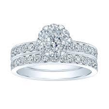 Costco Wedding Rings by Round Brilliant 1 16 Ctw Vs2 Clarity I Color Diamond 14kt White