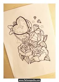 skull ribbon skull ribbon and roses tattoo designs photos pictures and