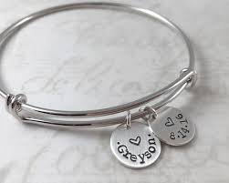 personalized bangle all sterling silver personalized bracelet custom name expandable
