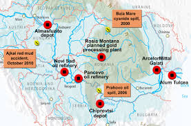 Refineries In Usa Map by Past Industrial Spills And Potential Threats Along The Danube Wwf