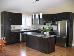 espresso kitchen island kitchen room espresso kitchen island with black wooden