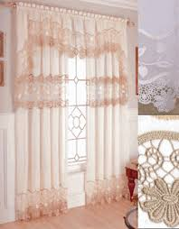 Seville Curtains Seville Sheer Macrame Curtains My Style Macrame